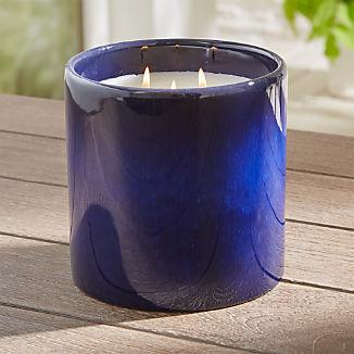 Maya Blue Large Citronella Candle
