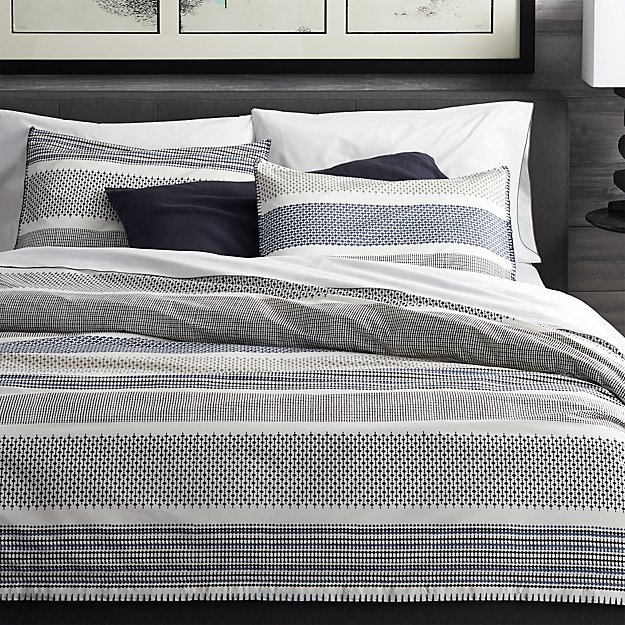 Medina Duvet Covers And Pillow Shams Crate And Barrel