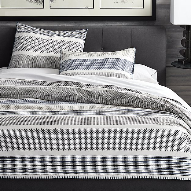 Medina Full Queen Duvet Cover Crate And Barrel