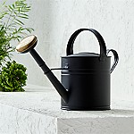 Medium Matte Black Watering Can