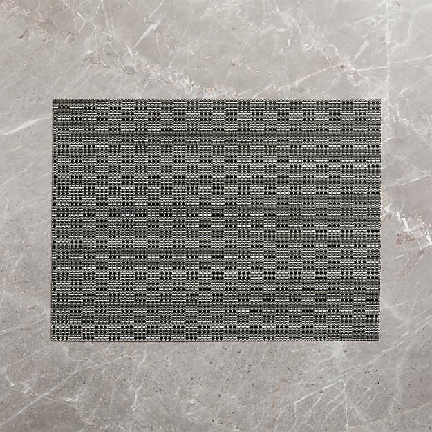Meka Black Easy-Care Placemat - Image 1 of 4