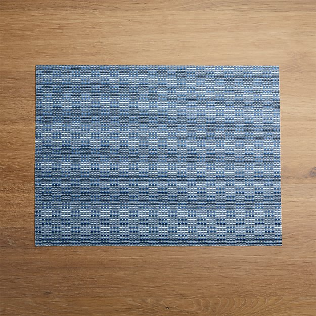 Meka Blue Easy-Care Placemat - Image 1 of 4