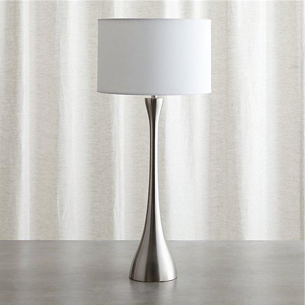 Melrose Nickel Table Lamp