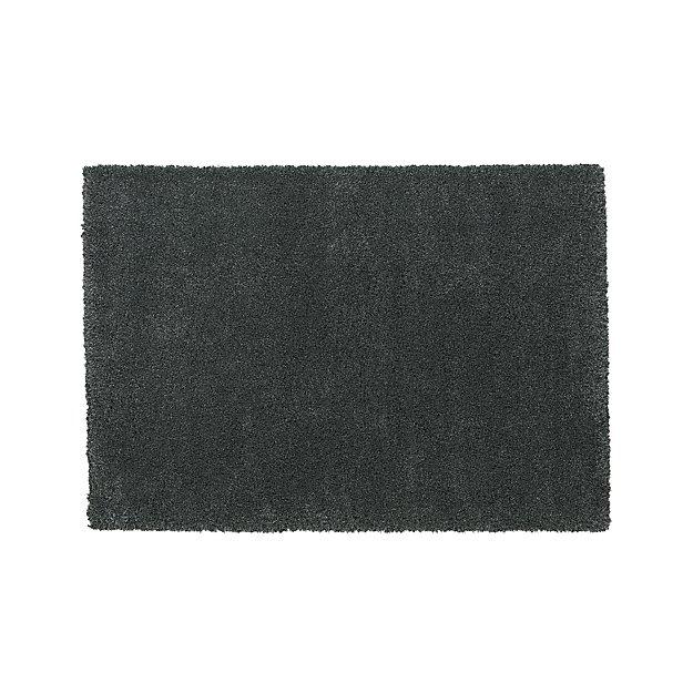 Memphis 6'x9' Steel Grey Shag Rug