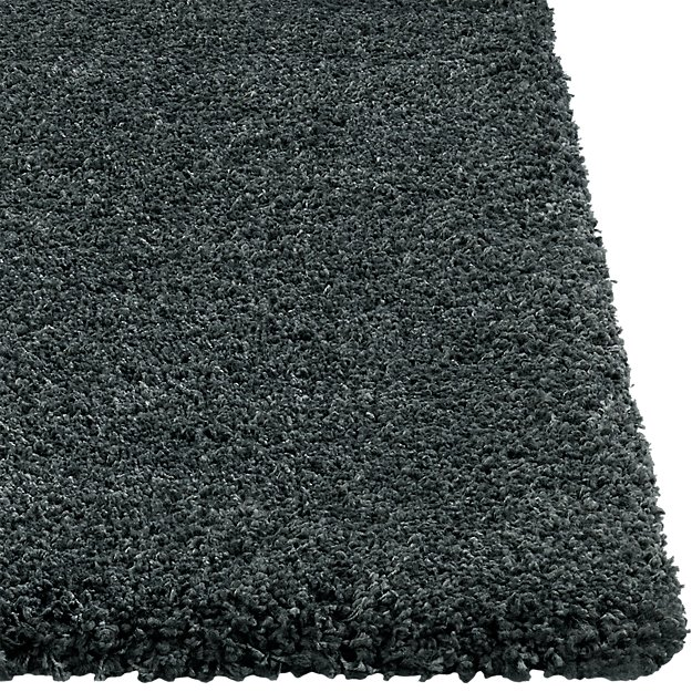 Memphis Grey Shag Rug Crate And Barrel