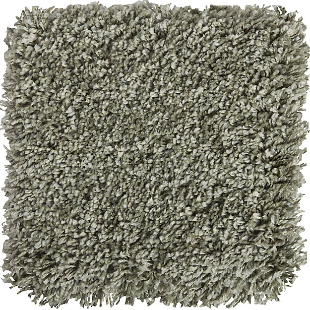 "Memphis Sage Green Wool 12"" Sq. Rug Swatch"