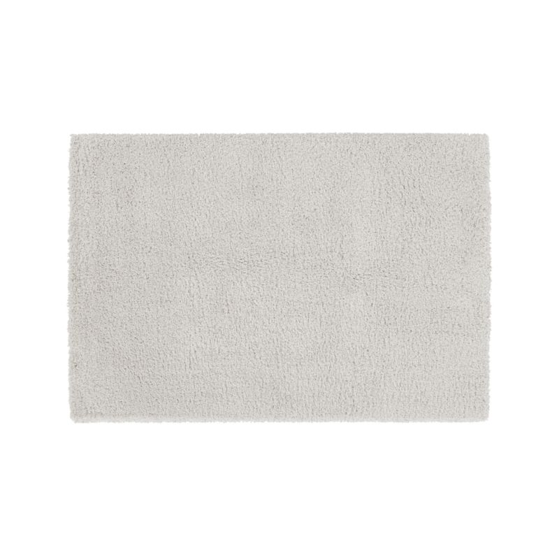 Memphis 8x10 White Shag Rug Crate And Barrel