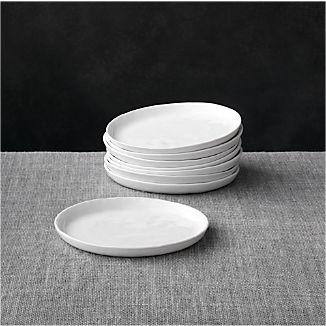 Set of 8 Mercer Appetizer Plates