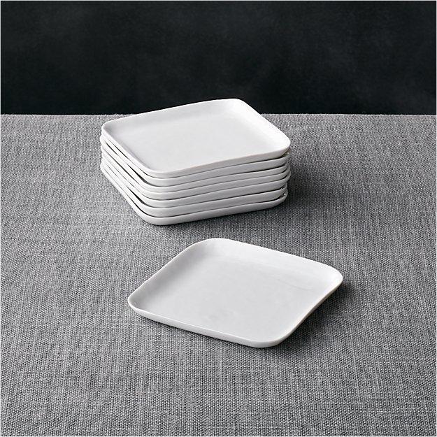 Set of 8 Mercer Square Appetizer Plates - Image 1 of 1