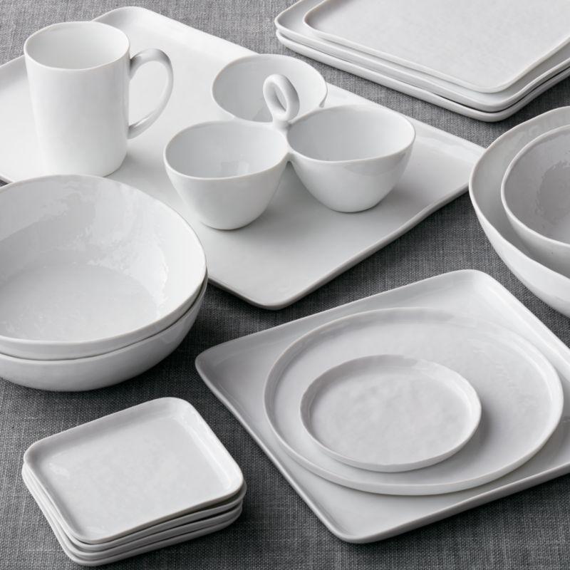 & Mercer Square Dinnerware | Crate and Barrel