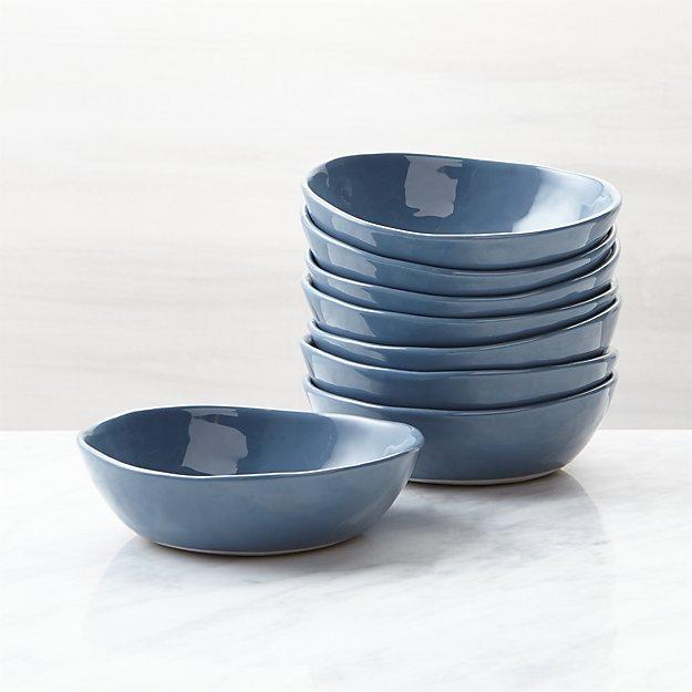 Mercer Denim Mini Bowls, Set of 8 - Image 1 of 4
