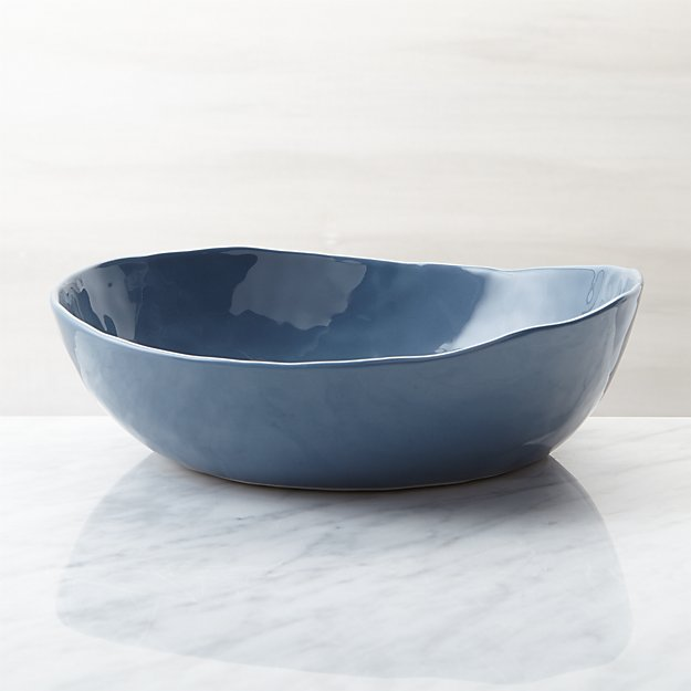 Mercer Denim Low Bowl - Image 1 of 4