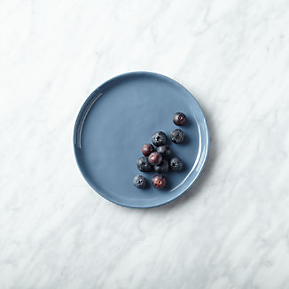 Mercer Denim Appetizer Plate
