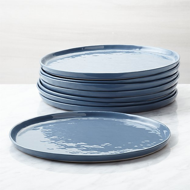 Mercer Denim Salad Plates, Set of 8 - Image 1 of 4