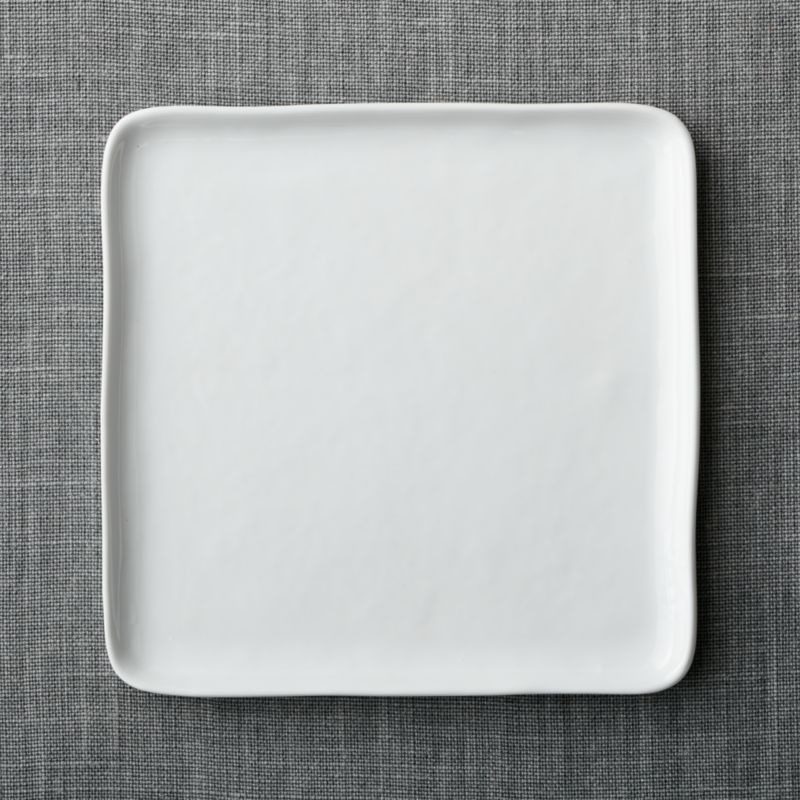 Set of 8 Mercer Square Dinner Plates in Dinnerware Collections + Reviews | Crate and Barrel & Set of 8 Mercer Square Dinner Plates in Dinnerware Collections + ...
