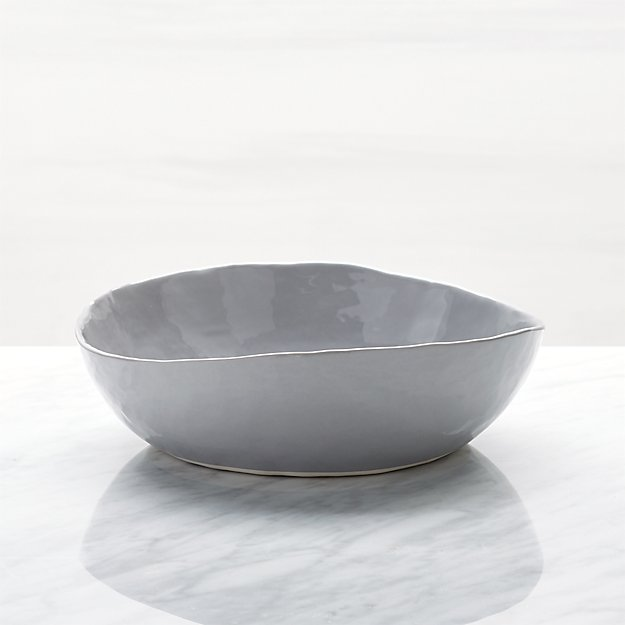 Mercer Grey Low Bowl - Image 1 of 6