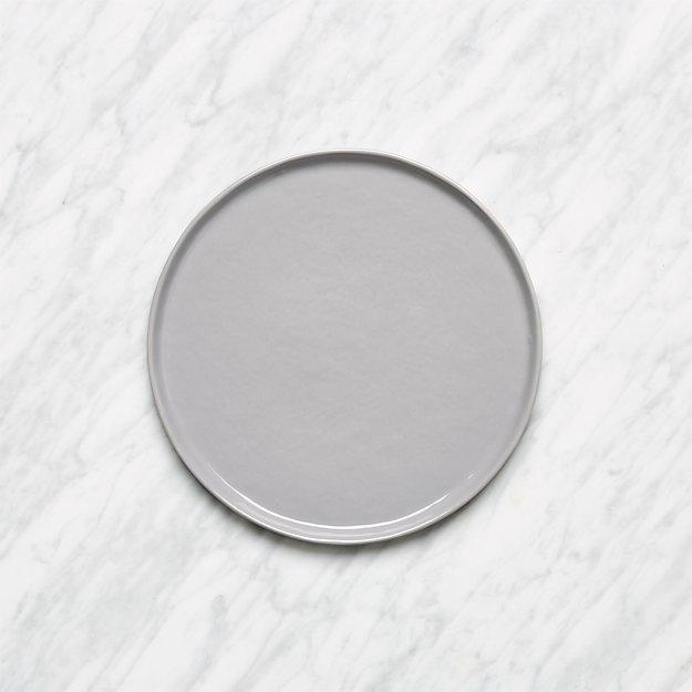 Mercer Grey Round Salad Plate - Image 1 of 6