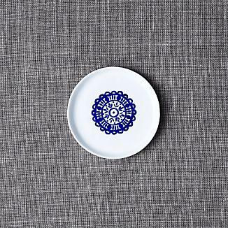 Mercer Indigo Appetizer Plate