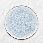 Mercer Lines Round Platter