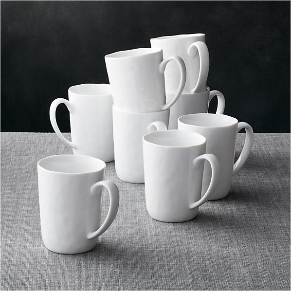 Set of 8 Mercer Mugs