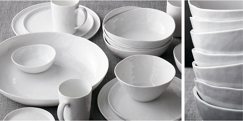 Mercer Dinnerware & Dinnerware sets | Crate and Barrel