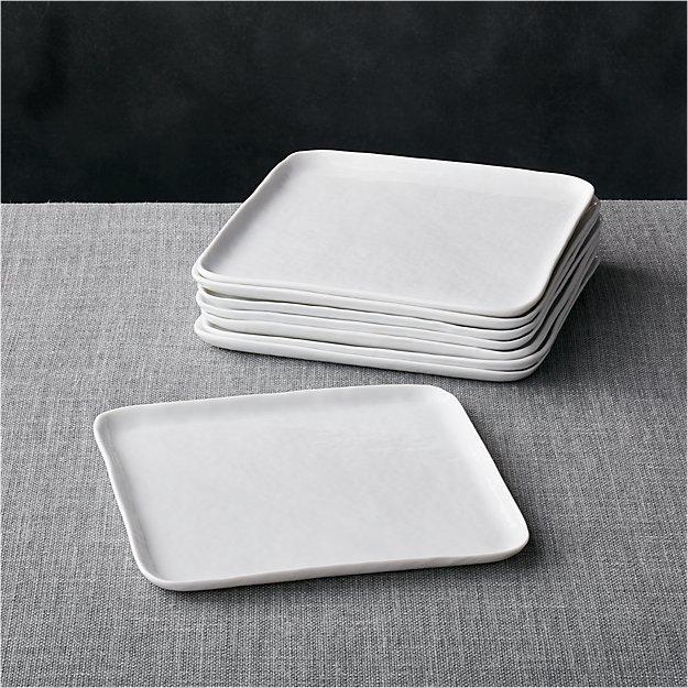 Set of 8 Mercer Square Salad Plates - Image 1 of 4