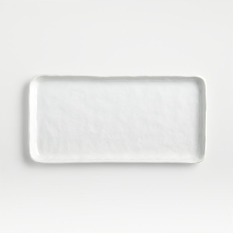 Shop Mercer Rectangular Plate from Crate and Barrel on Openhaus