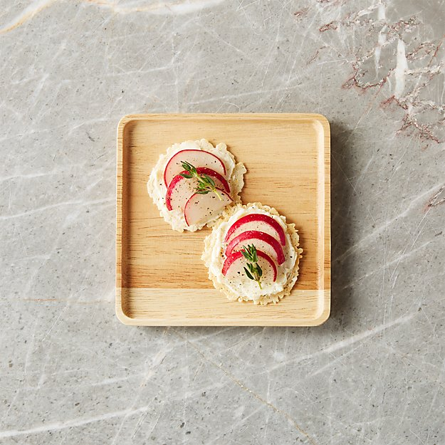 Merge Wood Appetizer Plate - Image 1 of 7