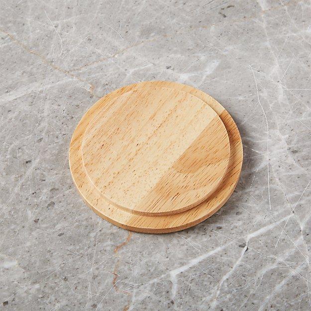 Merge Wood Lid/Coaster - Image 1 of 6