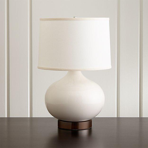 Ivory table lamp base best inspiration for table lamp merie ivory table lamp with bronze outlet base crate and barrel aloadofball Images