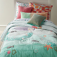 Mermaid Kids Bedding Crate And Barrel