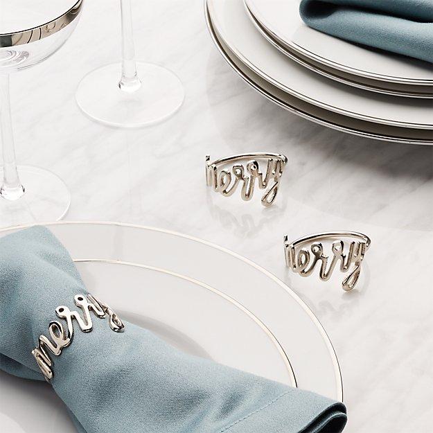 Merry Napkin Ring