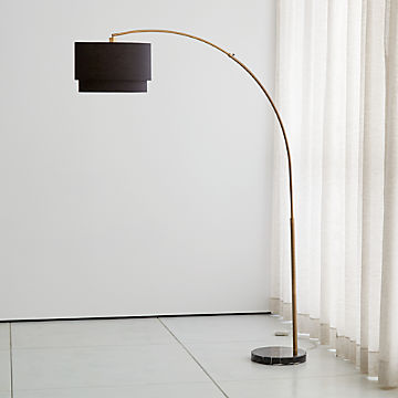 Admirable Chic Floor Lamps To Brighten Your Home Crate And Barrel Ibusinesslaw Wood Chair Design Ideas Ibusinesslaworg