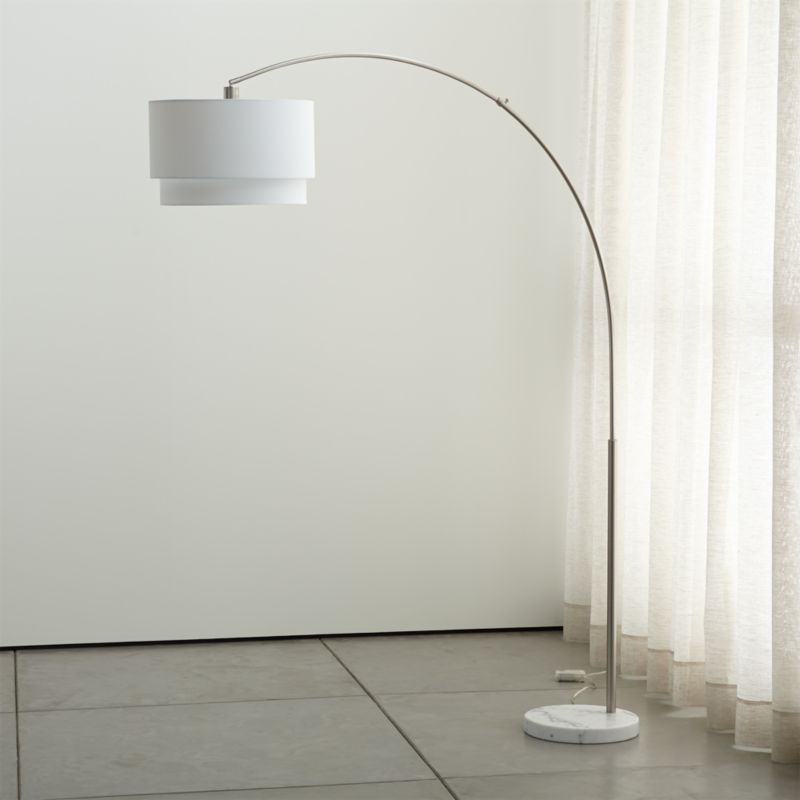 Meryl Arc Floor Lamp Reviews Crate