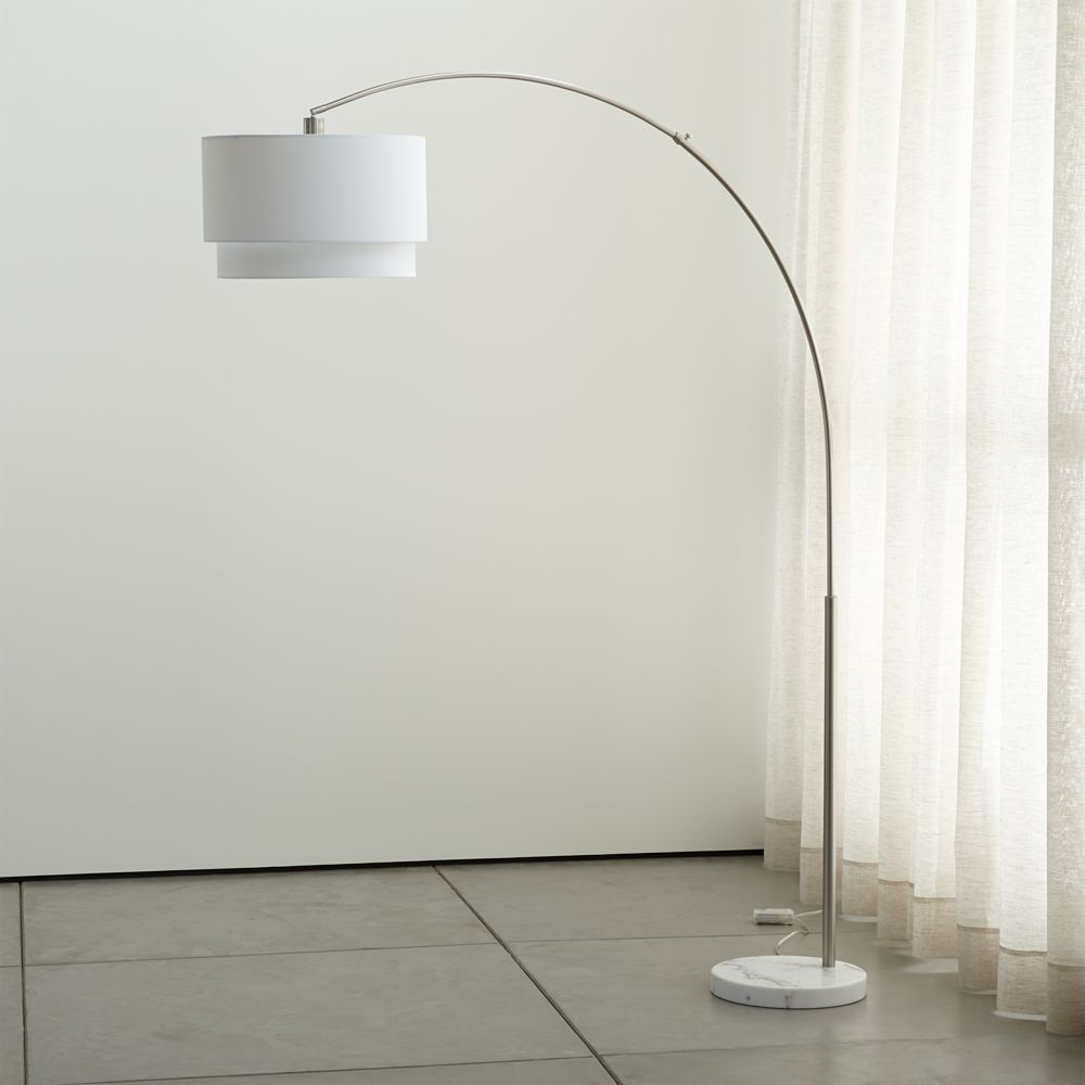 Meryl Arc Floor Lamp - Crate and Barrel