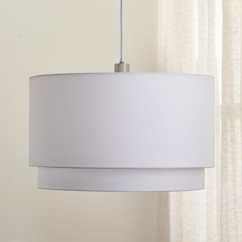 Meryl Pendant Light by Crate&Barrel