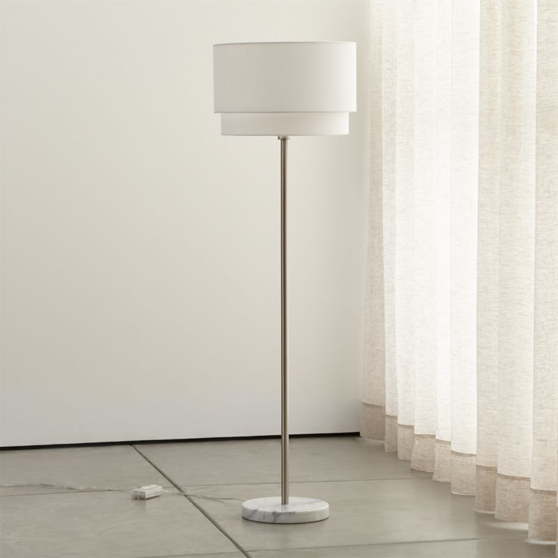 Meryl Vertical Floor Lamp Reviews Crate and Barrel