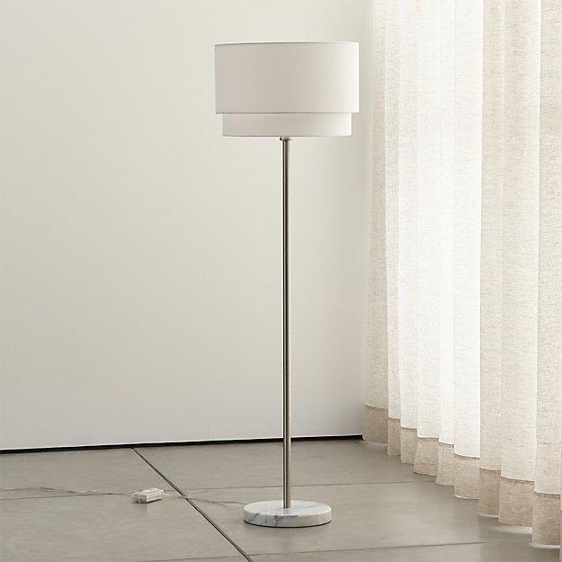 Crate and Barrel Exclusive. Meryl Vertical Floor Lamp - Meryl Vertical Floor Lamp Crate And Barrel