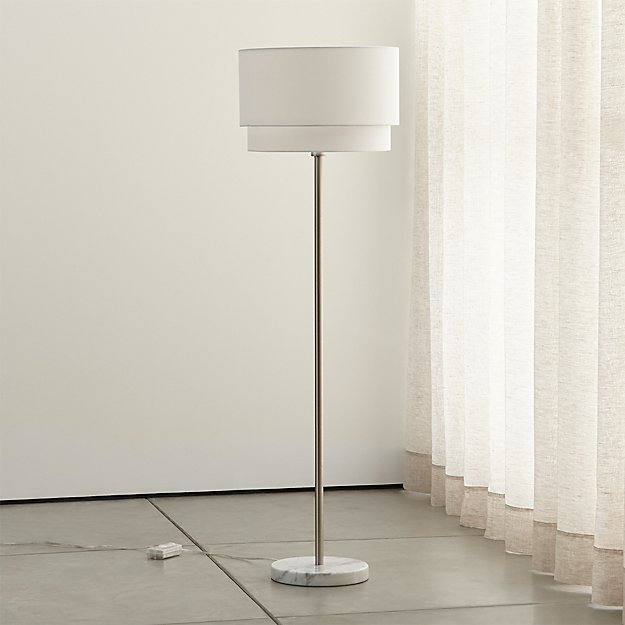 Meryl vertical floor lamp reviews crate and barrel mozeypictures Images