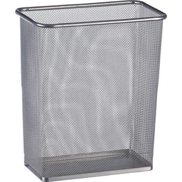 Mesh Rectangular Trash Can