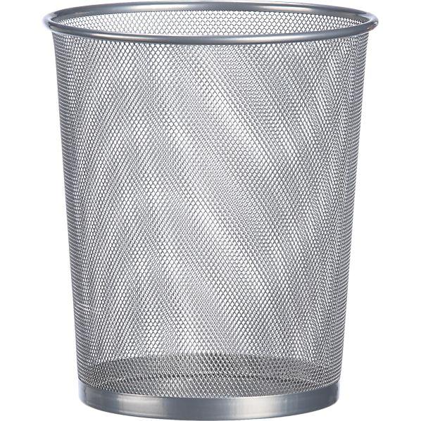 Mesh Round Trash Can