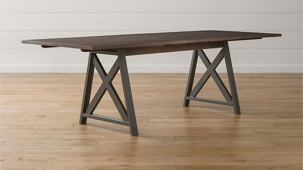 Metra Extension Dining Table Crate and Barrel : MetraExtensionTableSHS1516x9 from www.crateandbarrel.com size 1008 x 567 jpeg 58kB