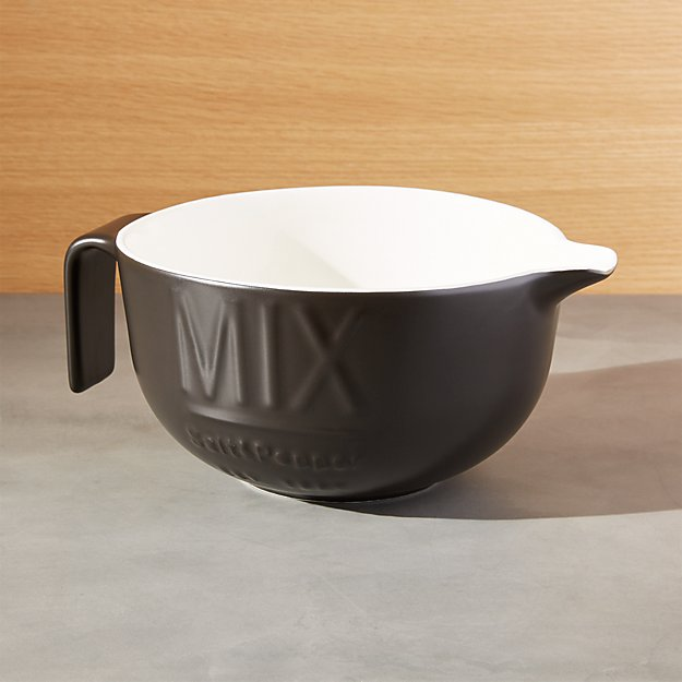 Metro Matte Black Batter Bowl