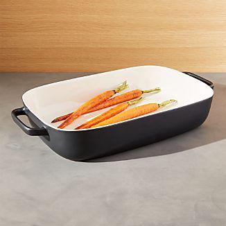 Metro Matte Black Baking Dish