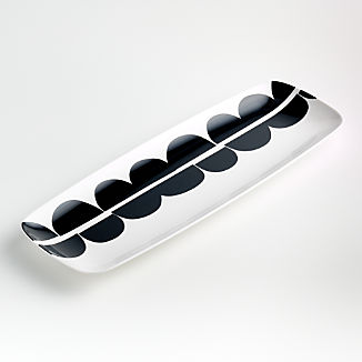 Metro Melamine Rectangle Platter