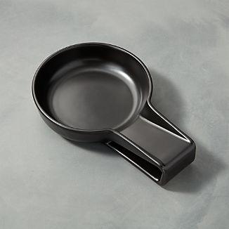 Metro Black Spoon Rest