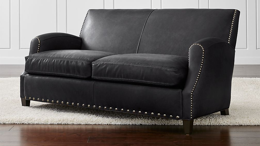 Metropole Leather Loveseat - Image 1 of 5