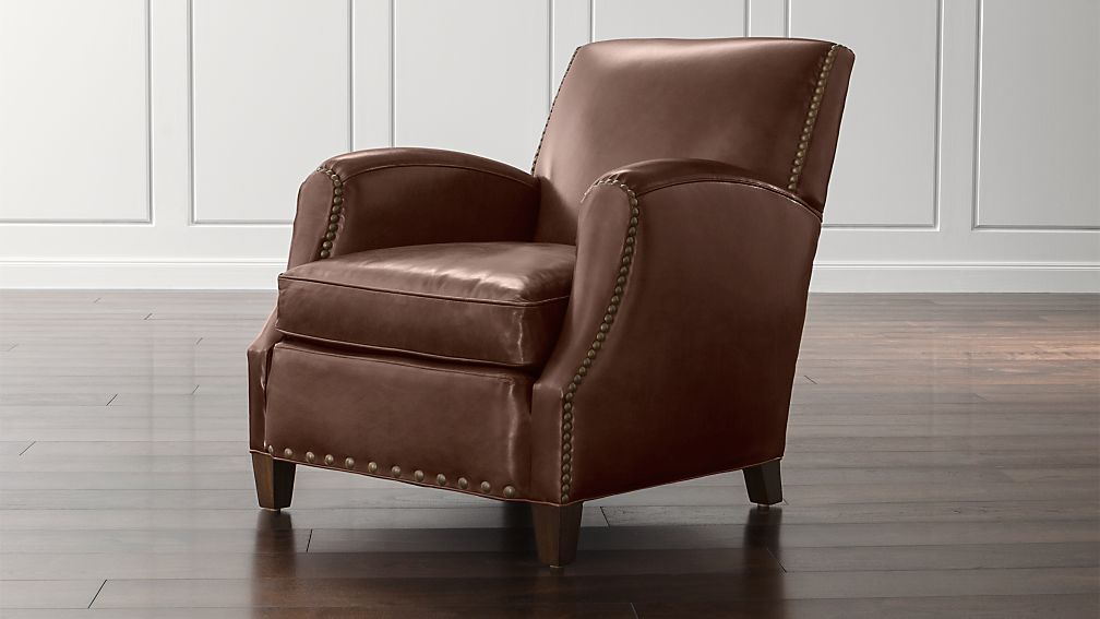 Metropole Leather Chair - Image 1 of 12