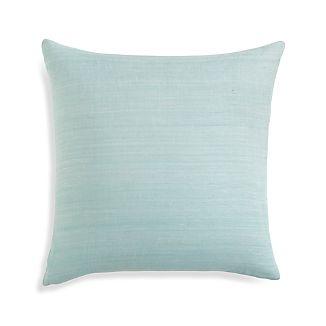 "Michaela Aqua 20"" Pillow Cover"