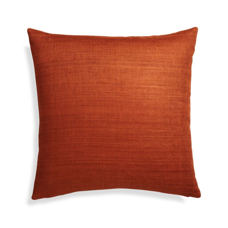 Michaela Cayenne Pillow Cover In Decorative Pillows